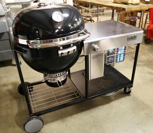 New Weber Summit charcoal grilling center ($980.00)