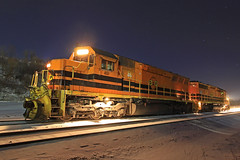 My days before flashes (GLC 392) Tags: bprr bp buffalo pittsburgh railroad railway train emd sd45 sd45r sd452 sd403 3331 451 btnc butler pa pennsylvania snow stars early morning