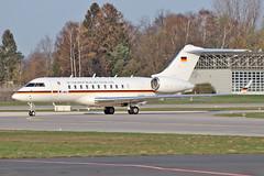 Bombardier BD-700-1A11 Global 5000 - 14+02  HAJ - 02.04.2019 (2) (Matthias Schichta) Tags: haj hannoverlangenhagen eddv flugzeugbilder planespotting 1402 luftwaffe bomardier