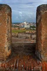 San Juan PR seen from atop Ft San Cristobal (Light Orchard) Tags: caribbean historic history spain spanish espana españa fort sanjuan travel defense puertorico vacation trip holiday cruise oceania ©2019lightorchard bruceschneider
