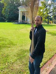Broom or branch (jglsongs) Tags: melbourne australia fitzroygardens