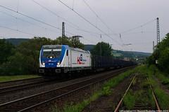 HLG 187 320 am 23.05.2018 mit einem leerem Holzzug in Oberhaun (Eisenbahner101) Tags: