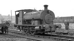 21/01/1961 - Port of London Authority, Millwall Docks, London. (53A Models) Tags: portoflondonauthority pla hudswellclarke hc18751953 040st 89 industrial steam millwalldocks train railway locomotive railroad london