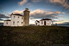 Back yard of the Watch Hill Lighthouse (Nora Kaszuba) Tags: norakaszuba sky westerlyrhodeisland watchhillrhodeisland watchhilllighthouse sonya7iii rokinon12mmf28 fisheye silhouette