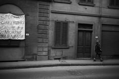 L1045771 (Daniele Pisani) Tags: lenzuola signa protesta smog traffico code file lastra nebbia fuomo fumo strada