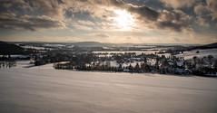 Blick auf Oppach und Beiersdorf Gebirge (matthias_oberlausitz) Tags: beiersdorf gebirge oppach winter schnne schnee himmel abend nachmittag oberlausitz sachsen saxony