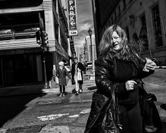15th Street, 2018 (Alan Barr) Tags: philadelphia 2018 15thstreet street sp streetphotography streetphoto blackandwhite bw blackwhite mono monochrome candid city people ricoh gr