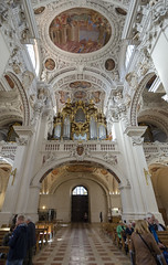 St Stephens Cathedral Interior - Passau 2 (rschnaible) Tags: passau germany europe st stephens cathedral building architecture baroque circa 1688 old historical