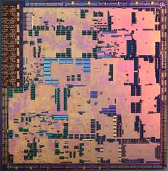 Nvidia RSX Die (Sony PS3 gpu) (kashirin_ov) Tags: nvidia rsx sony playstation ps3 gpu die chip macro