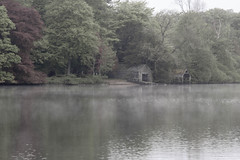 BOAT HOUSE (Colin P2009) Tags: boathouse lake mist water