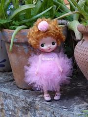 A pixie ??? (feltland) Tags: feltland holala fairytown handmade knittingcrochet outfit craft doll muñeca boneca