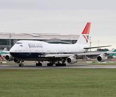 British Airways                           Boeing 747                            G-CIVB (Flame1958) Tags: 1408 britishairways britishairwaysb747 britishairwaysretrojet negus neguslivery britishairwaysheritagelivery britishairwaysheritage ba100 baretro dub eidw dublinairport iacltd internationalaerospacecoatings 210319 0319 2019 gcivb