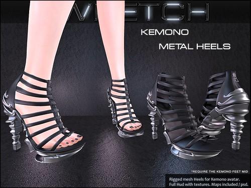 Kemono Metal Heels