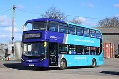 Arriva Buses Wales - CX17BYL, 1009 (M.R.P Photography) Tags: arrivabuseswales arrivacymru arriva arrivasapphire alexanderdennis alexanderdennise40d enviro400city cx17byl 1009