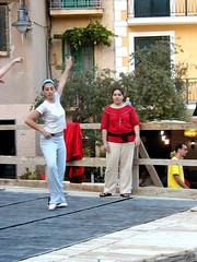 Marina di Camerota (John Steam) Tags: stage bühne ballett ballet veranstaltung dance tanz amateur marina di camerota kampanien campania italy italien 2004 beauty young lady