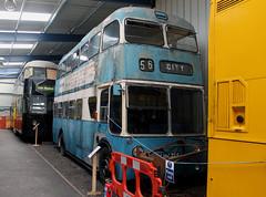 Trolleybus: Bradford Corporation: 835 LHN785 BUT9711T/East Lancs NELSAM (emdjt42) Tags: nelsam sunderland usworth lhn785 835 trolleybus bradfordcorporation
