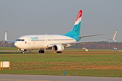 Boeing 737-8C9(WL) - LX-LBA - HAJ - 02.04.2019(1) (Matthias Schichta) Tags: haj hannoverlangenhagen eddv flugzeugbilder planespotting luxair lxlba boeing b737800