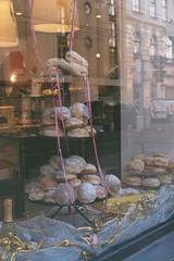 Negative0-09-09(1) (simona_stoeva) Tags: film analog 35mm canon ae 1 vienna travel trip city street donuts shop front bakery