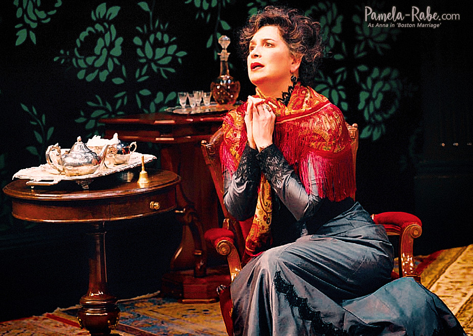 Pamela Rabe in Boston Marriage