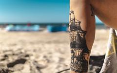 sail away with me (Artur Wala) Tags: people woman girl leg legtattoo tattoo girlwithtattoos ink inked inkedwoman tattooedwomen beach sail sailingship ship bałtyk alpha6000 a6000 sonyalpha6000 sigmalens sigma30mm amateurphotography