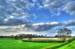 112_3_4_tonemapped (Joseph_Hooper) Tags: landscape hdr weston turville blue sky grass green vivid aylesbury buckinghamshire