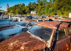 Texas Auto Sales (rick reichenbach) Tags: autosales junkyard oldcar shreveport louisiana