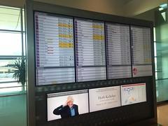 DAL FIDS (kevincrumbs) Tags: dallas lovefield dal kdal fids flightinformationdisplaysystem airport