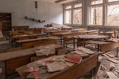Schools Out (sj9966) Tags: abandoned school pripyat chernobyl ussr cccp ukraine nuclear fallout exclusion zone sj9966 derelict decay dacaying soviet union
