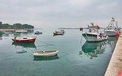 Baby Boats, Little Boats, and Big Boats (Eadbhaird) Tags: fazana boats croatia istria hrv brijuni island fažanastrait