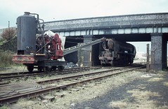 img005 (OldRailPics) Tags: mainline preservation society loughborough central great railway boscastle steam crane 34039