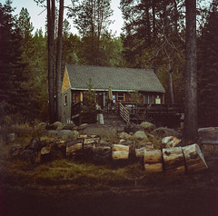 Truckee // California (bior) Tags: hasselblad500cm portra160nc portra hasselblad 6x6cm mediumformat 120 truckee tahoe expiredfilm square cabin woods forest sierranevada sierras sierramountains
