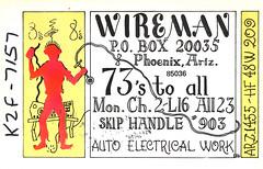 20002898 (myQSL) Tags: cb radio qsl card 1970s