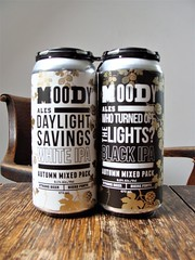Black and White IPAs (knightbefore_99) Tags: beer cerveza pivo tasty hops malt can craft local bc west coast moody ipa india pale ale black white
