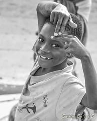DSC_0112 (i.borgognone) Tags: child children burkina africa smile black white