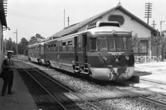 CP MEy307, Lousado, 1964 (filhodaCP) Tags: linhadeguimarães viaestreita viaestrecha viametrica narrowgauge metergauge comboiosdeportugal caminhodeferro allan railcar museuferroviário