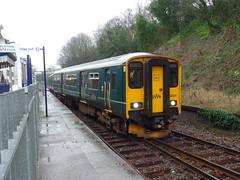 150234 derailment Penryn (1) (Marky7890) Tags: gwr 150234 class150 sprinter 2t76 penryn railway cornwall maritimeline train