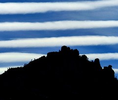 Cloud stack  {Explored} (jimsc) Tags: sky cloud mountain blue white january winter ngc skyscape skyshow stack desert sonorandesert arizona pimacounty tucson catalina panasonic lumix fz200 jimsc stripe band