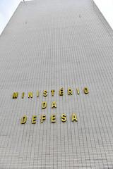 Fotos produzidas pelo Senado (Senado Federal) Tags: bie fachada prédio governofederal letreiro esplanadadosministérios ministériodainfraestrutura ministériodadefesa md identificação brasília df brasil bra