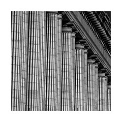 Russell Senate Office Building... (roylee21918) Tags: washington dc columns compression telephoto architecture monochrome dxo photolab
