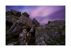 Sourton Tors, Dartmoor, Devon, UK (SimonHMiles) Tags: dartmoor moor landscape tor rock granite sunset dusk sky cloud longexposure zeiss 18mm