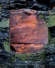 Rust (Donard850) Tags: england northyorkmoors saltwickbay coast intimatelandscape rock rust texture
