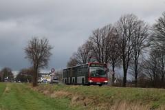 839 Meerbusch Haus Meer | Rheinbahn AG | Mercedes-Benz O 530 G Citaro | 6843 (Fünfhundertfünf) Tags: rheinbahn evobus citaro gelenkbus citarog o530g busfotografie meerbusch hausmeer