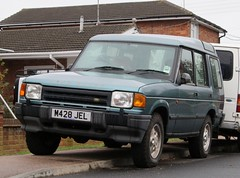 M428 JEL (Nivek.Old.Gold) Tags: 1994 land rover discovery tdi 5door 2495cc mgcannon