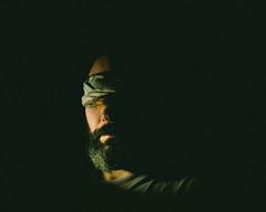 easy way out (theoswald) Tags: self selfportrait d3300 people mood light highcontrast nikon beard
