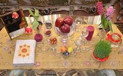 Happy New Year of Iranians (Iranians Haft Sin) (hamid-golpesar) Tags: haftsin 7sin norooz happynorooz 1398 tulip tulipflower apple eggs fish redfish hollyquran sabzeh samanu senjed somāq serkeh seeb seer garlic sumac vinegar persianolive persian persia newyear spring hyacinth mirror candle paintedeggs nowruz newrooz hamid hamidowaysee indoor owaysee tabriz iran hamidgolpesar