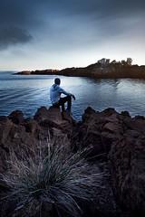 Au bord de l'eau (l0came) Tags: sony sea sonyflickraward seaside stone sky seascape skyporn seashore mirorless silouhette france flickr frenchriviera french nature photography landscape