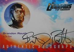Autograph Brandon Routh as The Atom (stonerain144) Tags: legendsoftomorrow brandonrouth theatom autograph