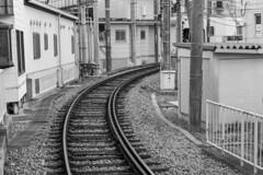 rail (Hideki Iba) Tags: bw monochrome blackandwhite 白黒 黑白 rail railway レール nikon d850 2470 鉄道