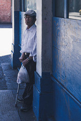 Patiently (Corey Rothwell) Tags: street portrait urban man
