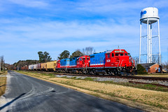 119 (BravoDelta1999) Tags: carolinacoastal clna railroad norfolksouthern ns railway northcarolina emd gp9r gp9rm 4630 4012 4628 manifest train 119 simpson